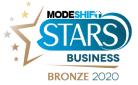 modeshift stars business bronze logo
